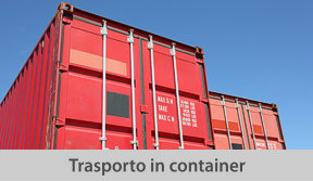 trasporto in container