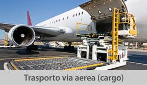 trasporto via aerea
